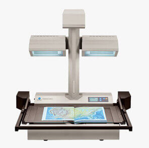 Face Up Color Book Scanner